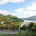 秋の赤谷湖