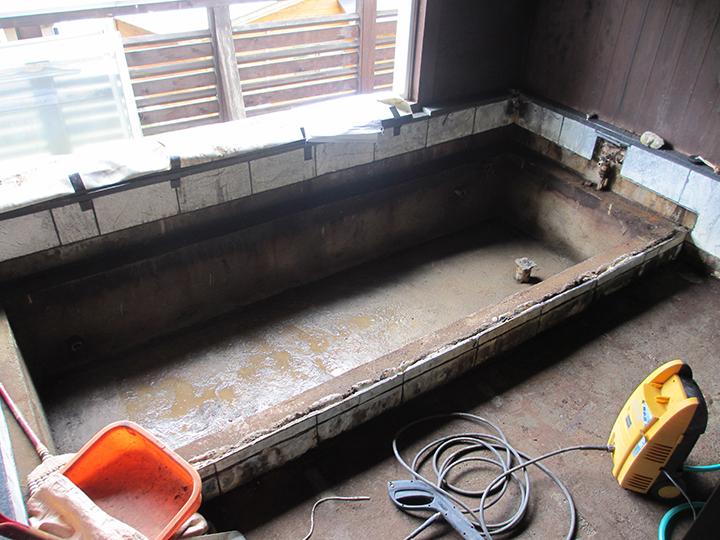 万葉の湯 貸切風呂