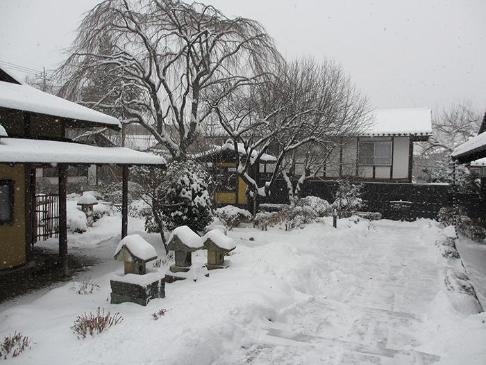 猿ヶ京温泉 雪景色