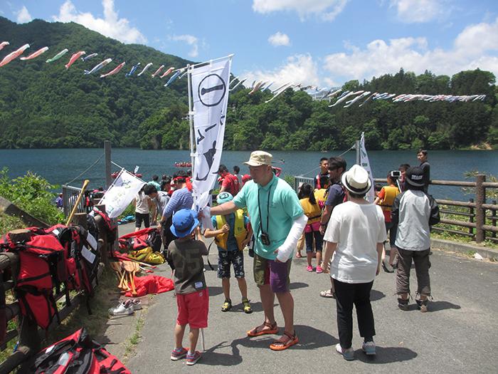 2015年度 赤谷湖Eボート大会